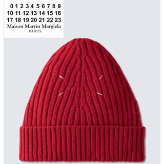 マルタンマルジェラ(Maison Martin Margiela)のMAISON MARGIELA 4ステッチ リブド ビーニー(ニット帽/ビーニー)