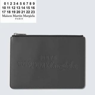 マルタンマルジェラ(Maison Martin Margiela)のMAISON MARGIELA ラバーレザー 4ステッチ ポーチ(セカンドバッグ/クラッチバッグ)