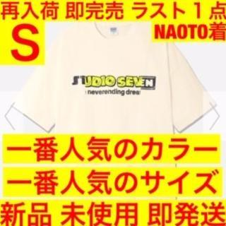 ジーユー(GU)の店頭 ネット 完売 オーバーサイズT 5分袖 GU STUDIO SEVEN 2(Tシャツ/カットソー(半袖/袖なし))