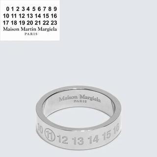 マルタンマルジェラ(Maison Martin Margiela)のMAISON MARGIELA ロゴ リング(リング(指輪))