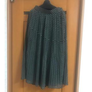 プロポーションボディドレッシング(PROPORTION BODY DRESSING)のプロポーション ボディドレッシング プリーツ ドットスカート(ロングスカート)