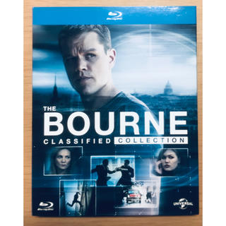 ユニバーサルエンターテインメント(UNIVERSAL ENTERTAINMENT)の《ジェイソン・ボーン公開記念》ボーン・クアドリロジー Blu-ray(外国映画)