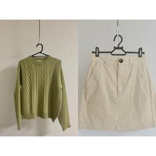 ジーユー(GU)のGUニット セーター/スカート(ニット/セーター)
