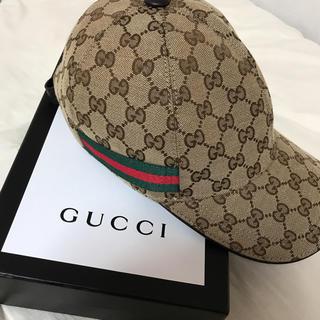 グッチ(Gucci)のGUCCI キャップ Mサイズ(キャップ)