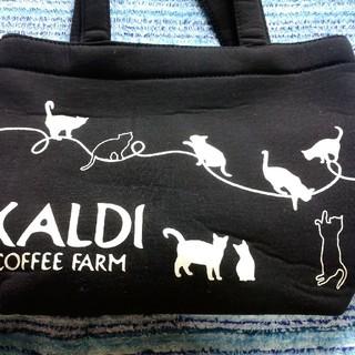 カルディ(KALDI)の【KALDI】カルディ ネコの日バッグ 2019/バッグのみ(トートバッグ)