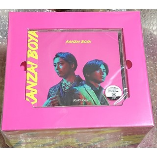 キンキキッズ(KinKi Kids)のKinKi Kids KANZAI BOYA 初回盤B CD キャップ(ポップス/ロック(邦楽))