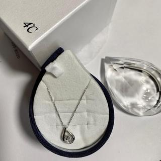 4℃ - 4℃  限定 ダイヤモンドネックレス  K18