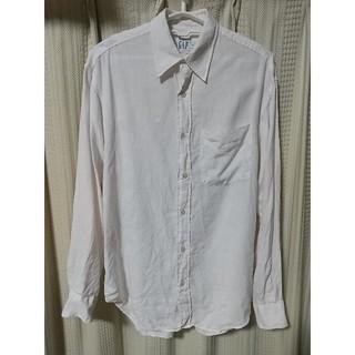 GAP - GAP リネン 長袖シャツ Sサイズ 白 ギャップ シンプル カジュアル 麻