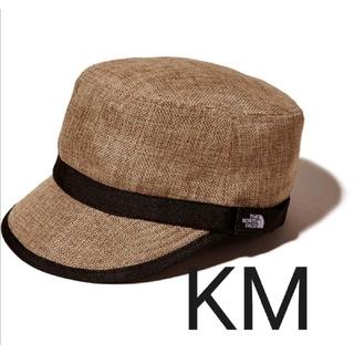 THE NORTH FACE - 新品 ノースフェイス ハイクキャップ キッズ KM ナチュラル 帽子