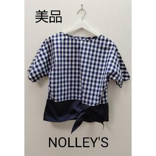 ノーリーズ(NOLLEY'S)のNOLLEY'S  ギンガムチェック  カットソー(カットソー(半袖/袖なし))