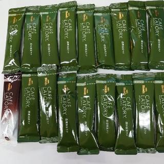 エイージーエフ(AGF)の CAFELATORY  濃厚抹茶ラテ17本+オマケ付(茶)