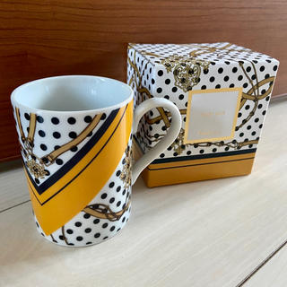 フランフラン(Francfranc)の新品 フランフラン スカーフ マグ マグカップ コーヒーカップ 2点セット ペア(グラス/カップ)