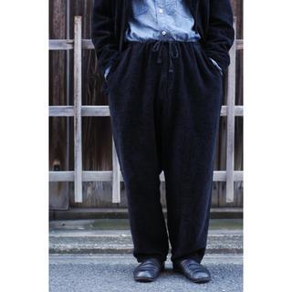コモリ(COMOLI)のCOMOLI 20ss リネンモール ドローストリングパンツ(スラックス)