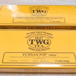 ディーンアンドデルーカ(DEAN & DELUCA)の新品♥TWG 紅茶 2箱 シンガポール(茶)