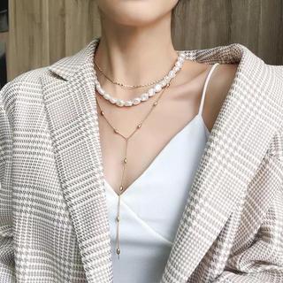 セオリー(theory)の色んな付け方ができるネックレス♡♡人気(ネックレス)