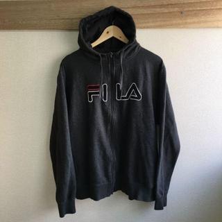 フィラ(FILA)のFILA フィラ パーカー ジップアップ ビッグロゴ(その他)