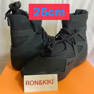 ナイキ(NIKE)のNIKE AIR FEAR OF GOD 1 TRIPLE BLACK 25cm(スニーカー)