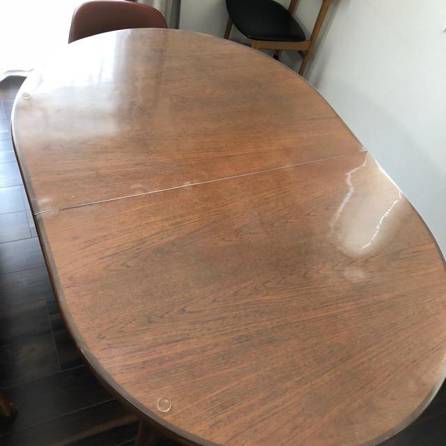 EAMES(イームズ)のG-PLAN  エクステンションテーブル チーク材 インテリア/住まい/日用品の机/テーブル(ダイニングテーブル)の商品写真
