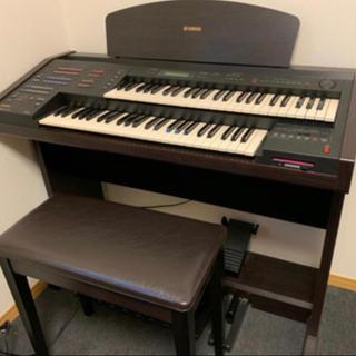 ヤマハ(ヤマハ)のYAMAHA 電子ピアノ EL-100 カバー欠品 動作品 2003年製(電子ピアノ)
