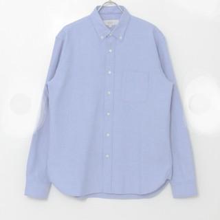 シップス(SHIPS)のSHIPSのエルボーパッチオックスボタンダウンシャツ(Tシャツ/カットソー(七分/長袖))