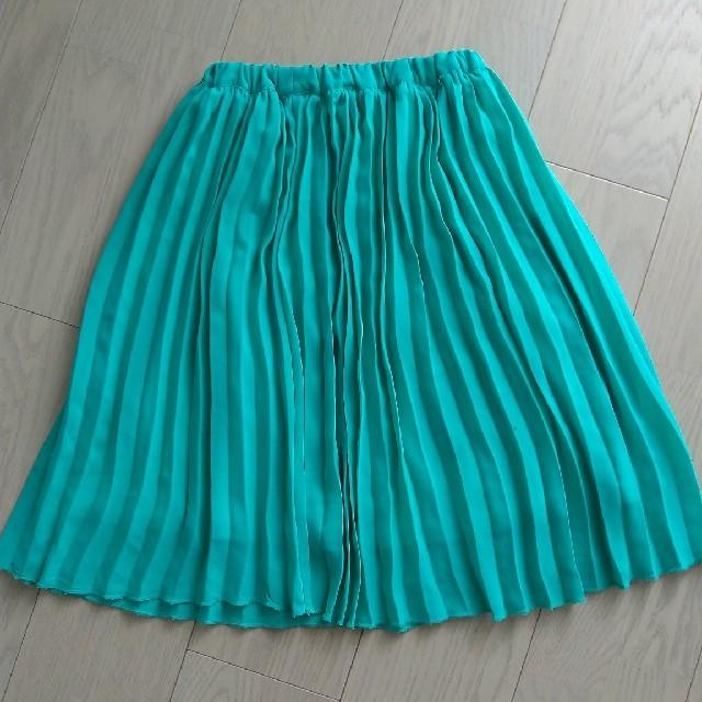 GLOBAL WORK(グローバルワーク)のグローバルワーク スカート XL  グリーン  GLOBAL WORK   キッズ/ベビー/マタニティのキッズ服女の子用(90cm~)(スカート)の商品写真
