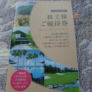 東急不動産株主優待券2冊(その他)
