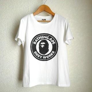 アベイシングエイプ(A BATHING APE)のA BATHING APE アベイシングエイプ BUSY WORKS Tシャツ(Tシャツ(半袖/袖なし))