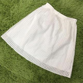 アンタイトル(UNTITLED)のUNTITLED アンタイトル スカート 大きいサイズ 3L(ひざ丈スカート)