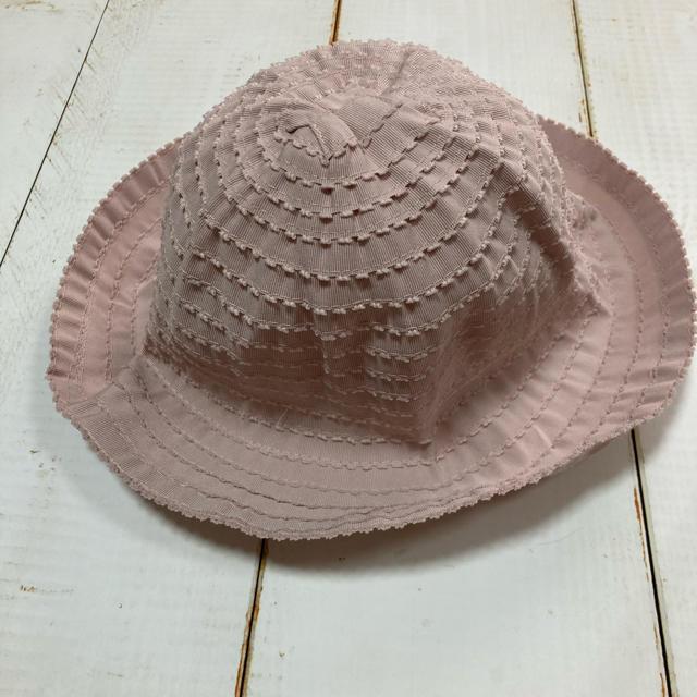 petit main(プティマイン)のプティマイン 新品 タグ付き 帽子 麦わら帽子 キッズ/ベビー/マタニティのこども用ファッション小物(帽子)の商品写真