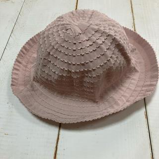 petit main - プティマイン 新品 タグ付き 帽子 麦わら帽子