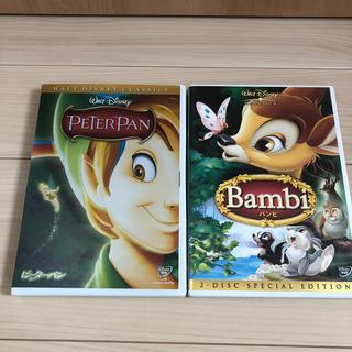 ディズニー(Disney)の値下げ☆ディズニー ピーターパンとバンビ DVDセット(アニメ)