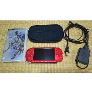 ソニー(SONY)のPSP3000&キングダムハーツ (バース バイ スリープ)(携帯用ゲームソフト)