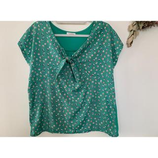 エニィファム(anyFAM)のトップス Tシャツ カットソー any FAM グリーン(カットソー(半袖/袖なし))