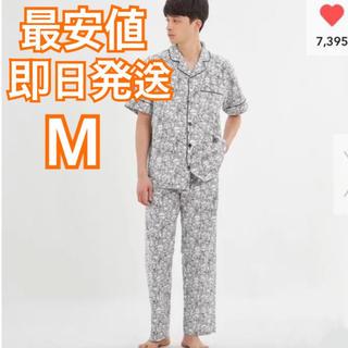 ジーユー(GU)の新品 GU ポケモン パジャマ M サイズ メンズ ルームウェア 総柄 モノクロ(その他)