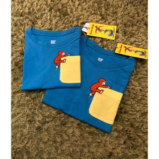 Design Tshirts Store graniph - 【新品タグ付き】おさるのジョージ グラニフTシャツ 90&110