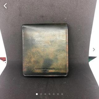 キャサリンハムネット(KATHARINE HAMNETT)のキャサリンハムネット 迷彩柄 二つ折り財布 カモフラージュ(折り財布)