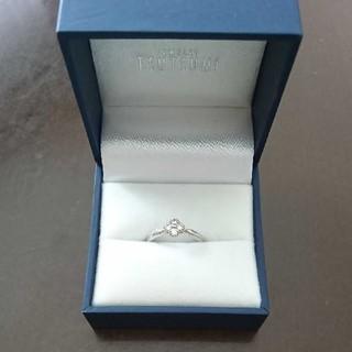 JEWELRY TSUTSUMI - ジュエリーツツミ プラチナ ダイアモンド リング 指輪