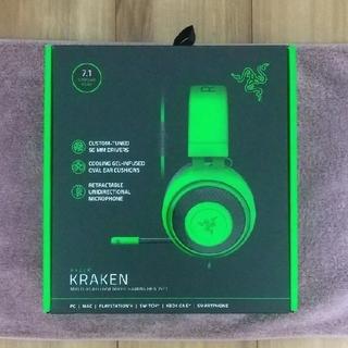 LAZER - Razer Kraken Green ゲーミングヘッドセット