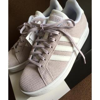 アディダス(adidas)のアディダス グランドコート 新品 24.0cm adidas(スニーカー)
