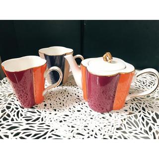 フランフラン(Francfranc)のFrancfranc エミリア マグカップ&ティーポット(グラス/カップ)