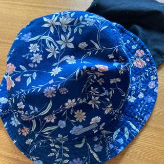 ブランシェス(Branshes)の48センチ 日除けあご紐付き(帽子)