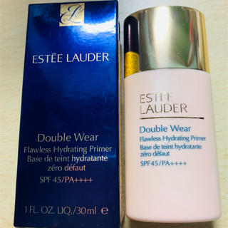 エスティローダー(Estee Lauder)のダブル ウェア フローレス ハイドレーティング プライマー(化粧下地)