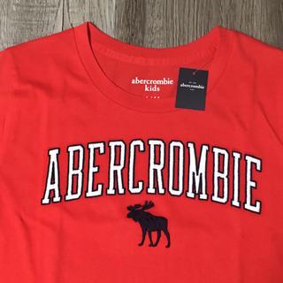 アバクロンビーアンドフィッチ(Abercrombie&Fitch)のabercrombie kidsアバクロンビーロゴ刺繍TシャツUS13/14新品(Tシャツ/カットソー)