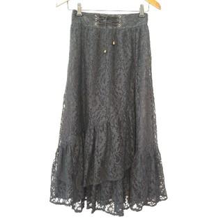 axes femme - axes 総レーススカート