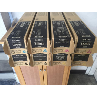 リコー(RICOH)のモモ様専用  リコー MP P C6003 3503 トナー 4色  2セット(OA機器)