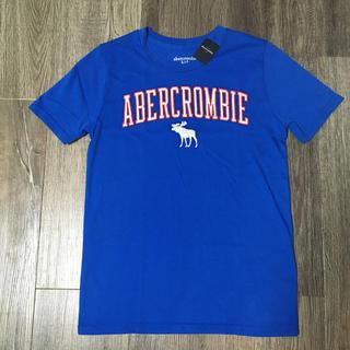 アバクロンビーアンドフィッチ(Abercrombie&Fitch)のabercrombiekidsアバクロンビーロゴ刺繍TシャツUS11/12新品(Tシャツ/カットソー)