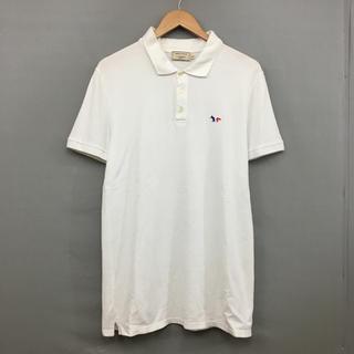 メゾンキツネ(MAISON KITSUNE')のメゾンキツネ MAISON KITSUNE ポロシャツ 半袖 ハーフボタン(ポロシャツ)