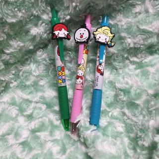アナトユキノジョオウ(アナと雪の女王)のアナと雪の女王 ボールペン 3本セット(キャラクターグッズ)