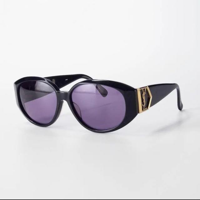 Saint Laurent(サンローラン)のイヴサンローラン YSLロゴ オーバル/バレルシェイプ サングラス メンズのファッション小物(サングラス/メガネ)の商品写真