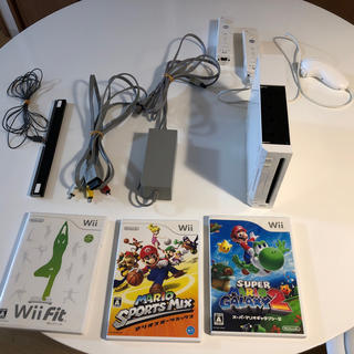 Wii - wii本体 ソフトセット